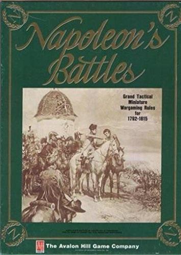 War Games - Napoleonic Avalon Hill Napoleon's Battles Grand