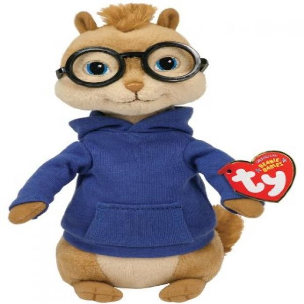 Ty Ty Beanie Babies Alvin And The Chipmunks 7f486a4820e4
