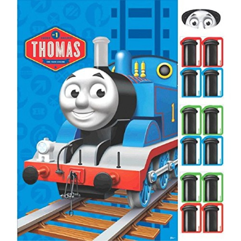 Amscan Fun Thomas The Tank Birthday Party Game Activity 24 X 37