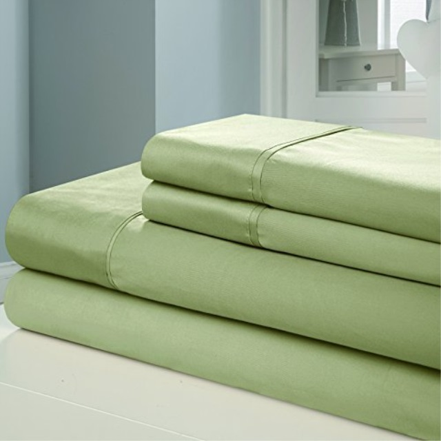 6fc577224a03 Chic Home 100Percent Egyptian Cotton Luxury Collection 1000 Thread Count  Sheet Set, California King,