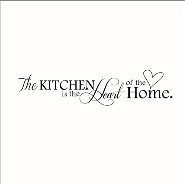 Mafent The Kitchen Is The Heart Of The Home Quotes And Sayings Wall