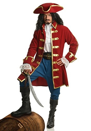 charades mens rum pirate costume large