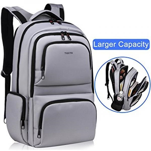Kuprine Water Resistant Slim Business Laptop Backpacks for Men Women  Lightweight College Computer Backpack Fits Most 15.6 Inch L dcb56a94b44c9