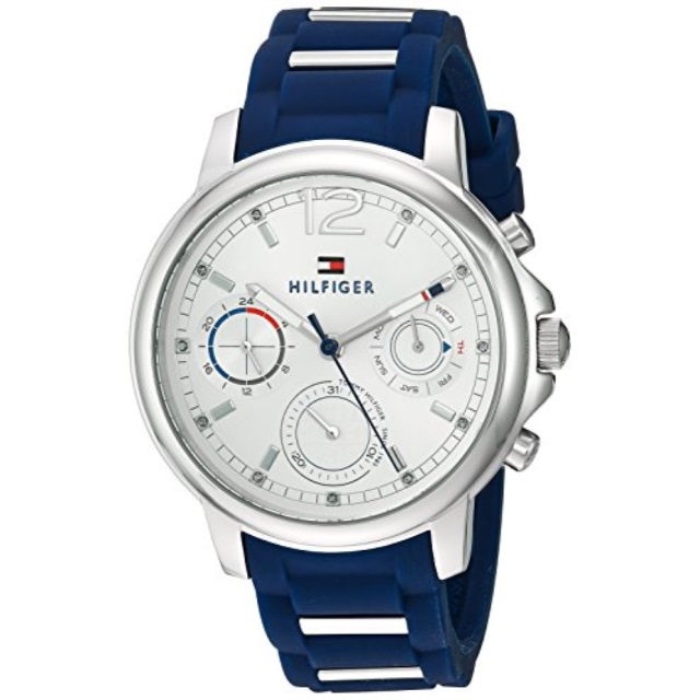 eae44033 Tommy Hilfiger Tommy Hilfiger Women's 'Claudia' Quartz Stainless Steel and  Rubber Casual Watch,