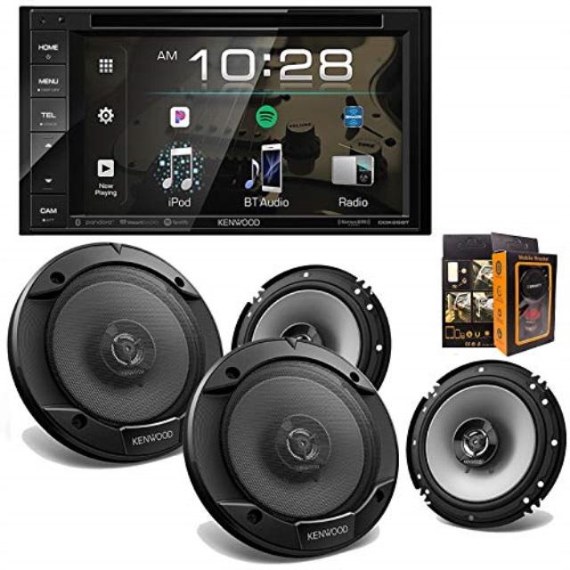 JVC Kenwood ADIB07HNG7B33 Kenwood Audio DDX26BT 6 2 Double